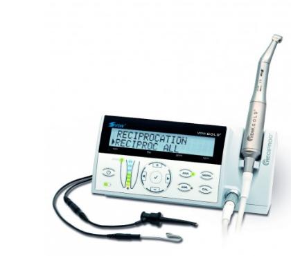Micromoteur d'endodontie avec localisateur d'apex